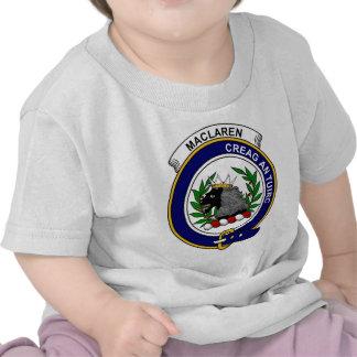 MacLaren Clan Badge Shirts