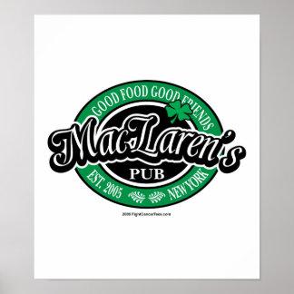 MacLaren s Pub Print