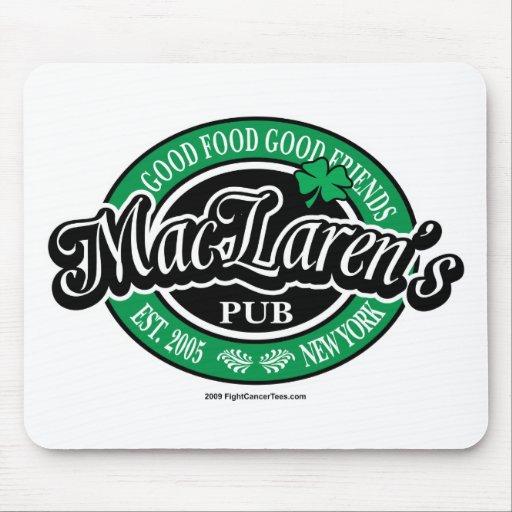 MacLaren's Pub Mouse Pad
