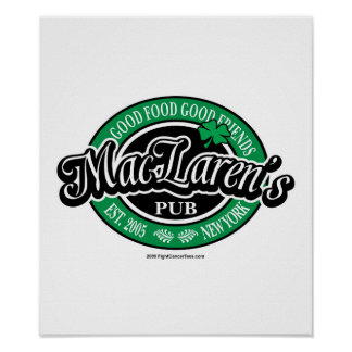 MacLaren's Pub Poster