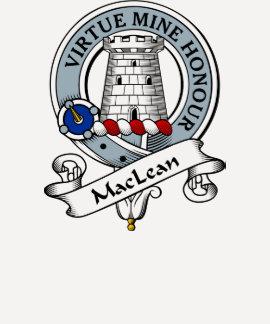 MacLean Clan Badge Shirt