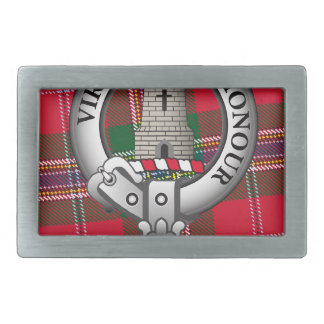 Maclean Clan Rectangular Belt Buckle