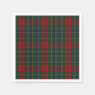 MacLean Clan Tartan Plaid Paper Napkins