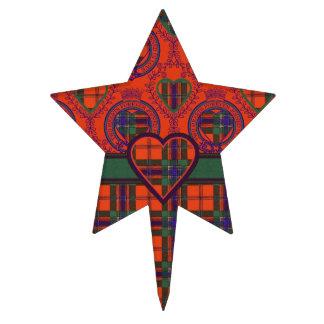 Maclean del tartán del escocés de la tela escocesa decoraciones de tartas
