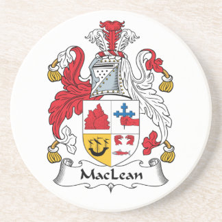 MacLean Family Crest Coasters