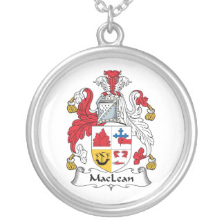 MacLean Family Crest Custom Jewelry