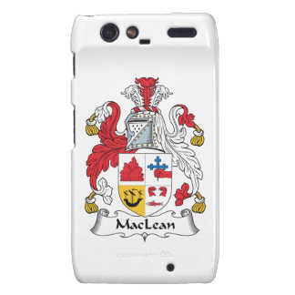 MacLean Family Crest Droid RAZR Covers