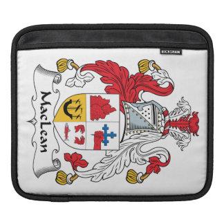 MacLean Family Crest iPad Sleeve