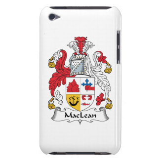 MacLean Family Crest iPod Touch Covers