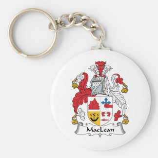 MacLean Family Crest Keychains