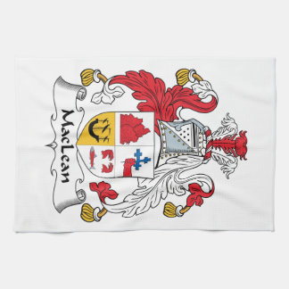 MacLean Family Crest Kitchen Towel