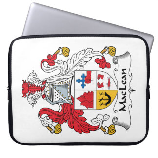 MacLean Family Crest Laptop Sleeve