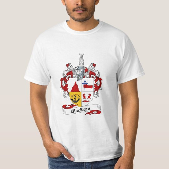 Maclean Family Crest - Maclean Coat of Arms T-Shirt