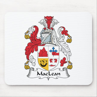 MacLean Family Crest Mouse Mats