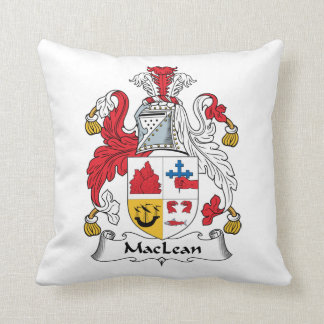 MacLean Family Crest Pillow