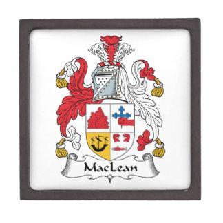 MacLean Family Crest Premium Trinket Boxes