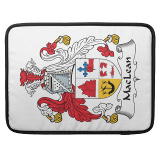MacLean Family Crest Sleeve For MacBook Pro