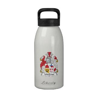 MacLean Family Crest Water Bottles