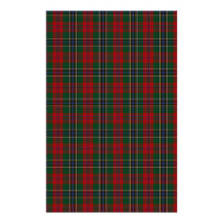 MacLean / McLean Clan Family Tartan Stationery