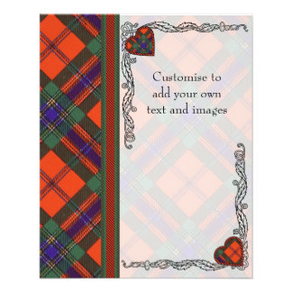 Maclean of Duart Plaid Scottish tartan Flyer