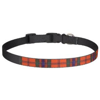 Maclean of Duart Plaid Scottish tartan Pet Collar