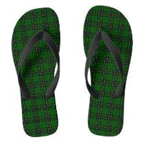MacLean Tartan Flip Flops