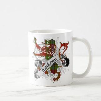 MacLean Tartan Lion Classic White Coffee Mug