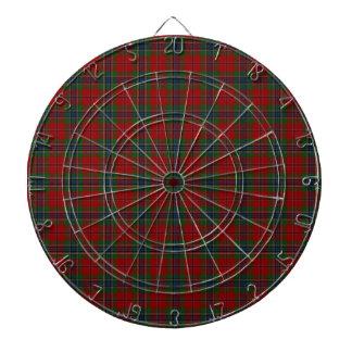 Maclean Tartan Scottish Modern MacLean of Duart Dart Board
