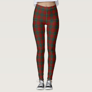 Maclean Tartan Scottish Modern MacLean of Duart Leggings