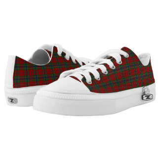 Maclean Tartan Scottish Modern MacLean of Duart Low-Top Sneakers