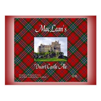 MacLean's Duart Castle Ale Postcards