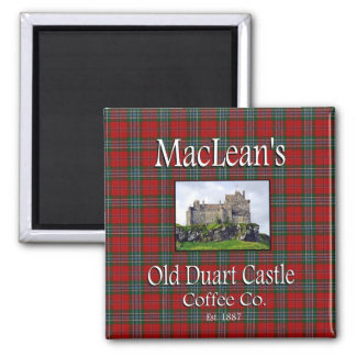 MacLean's Old Duart Castle Coffee Co. Magnet