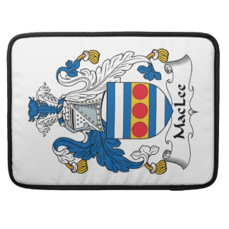 MacLee Family Crest Sleeve For MacBook Pro