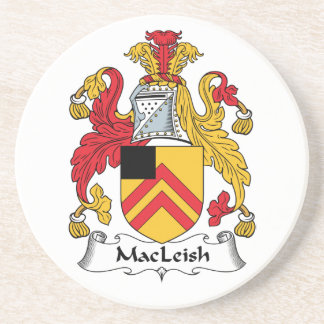 MacLeish Family Crest Beverage Coasters