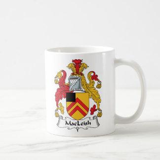 MacLeish Family Crest Coffee Mug