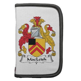 MacLeish Family Crest Folio Planner