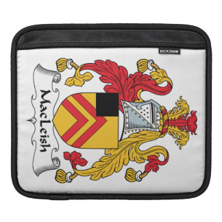 MacLeish Family Crest iPad Sleeves