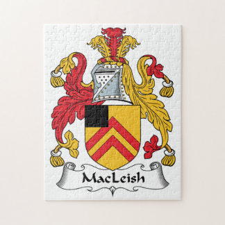 MacLeish Family Crest Jigsaw Puzzles