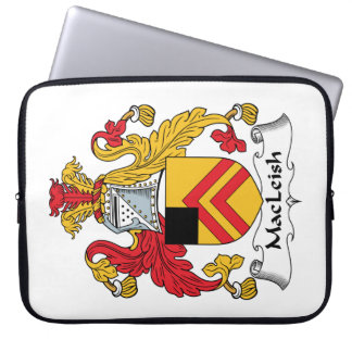 MacLeish Family Crest Laptop Computer Sleeves