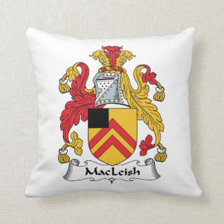 MacLeish Family Crest Pillow