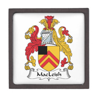 MacLeish Family Crest Premium Trinket Boxes