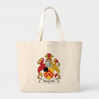 MacLeish Family Crest Tote Bag