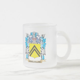 Maclellan Coat of Arms - Family Crest 10 Oz Frosted Glass Coffee Mug