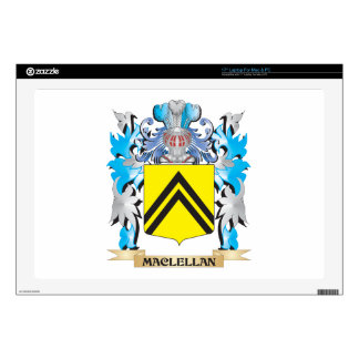"""Maclellan Coat of Arms - Family Crest Decal For 17"""" Laptop"""