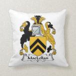 MacLellan Family Crest Pillow