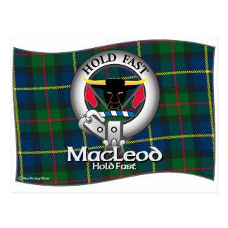 MacLeod Clan Postcard