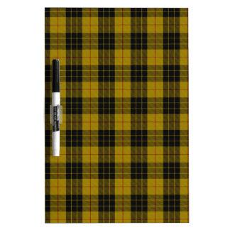 "MacLeod Clan Tartan (aka ""Loud MacLeod"") Dry-Erase Whiteboards"