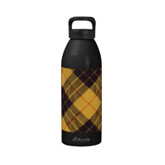 Macleod del tartán de Lewis y del escocés de Ramsa Botella De Agua