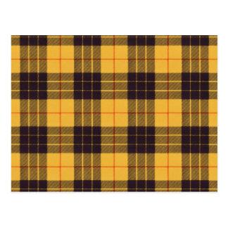 Macleod del tartán de Lewis y del escocés de Ramsa Postal