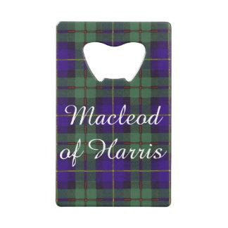 Macleod del tartán del escocés de la tela escocesa